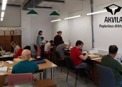 Darbas - tai erdvė susitikti - kūryboje, veikloje, pokalbyje, o kartais ir karštoje diskusijoje