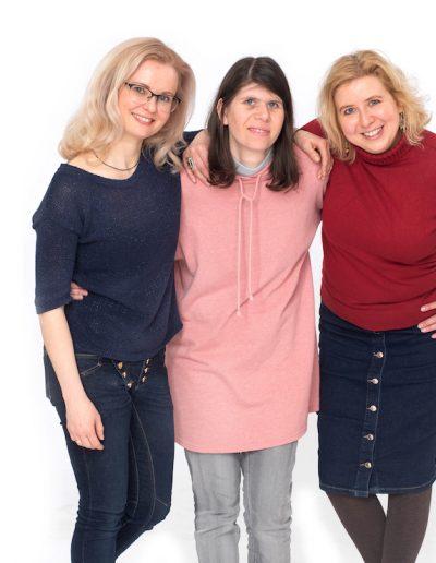 Lina, Rugilė ir Jolita